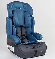 Детское автокресло JOY 15416 универсальное, группа 1/2/3, вес ребенка от 9-36 кг, синие