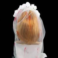 Украшение на голову Хэллоуин Кровавая невеста 9174-017