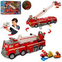 """Набор с транспортом 21251 """"Щенячий патруль"""", пожарная машина,зв,свет, транспорт,фигурки"""
