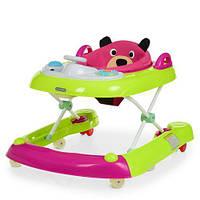 Детские ходунки EL Camino Bear ME 1055, Bright Pink