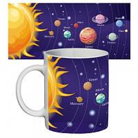 Чашка с принтом 65605 Солнечная система