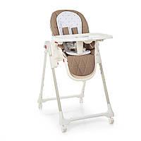 Детский складной стульчик для кормления Bambi ME 1037 CRYSTAL Stars Latte, фото 1