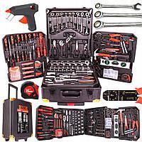 Набор инструментов LEX 187 единиц, в кейсе на колесиках