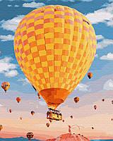 Картина по номерам Воздушный шар GX25451 Brushme 40х50см Уникальные сюжеты