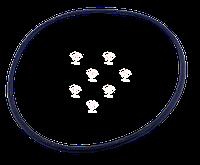 Кольцо уплотнительное 6Д49.36.11