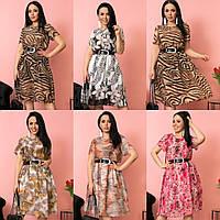 Платье модель № 6485-1 в расцветках (р.48-62)