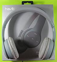 Наушники беспроводные Bluetooth Havit HV-H2575BT (серые), фото 1