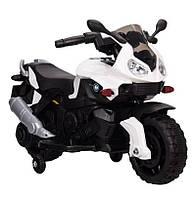 Детский мотоцикл T-7219/1 White BMW, белый