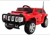 Детский электромобиль T-7836 EVA RED Hummer, красный