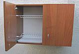 Сушарка для посуду 80см в шафі з петлями, фото 4