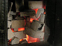 Печь-каменка из кирпича с прямым нагревом камней