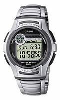 Мужские часы Casio W-213D-1AVES + ПОДАРОК: Наушники для Apple iPhone 5 -- БЕЛЫЕ MDR IP