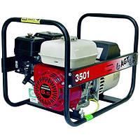 Однофазный бензиновый генератор AGT 3501 HSB SE (3 кВт)
