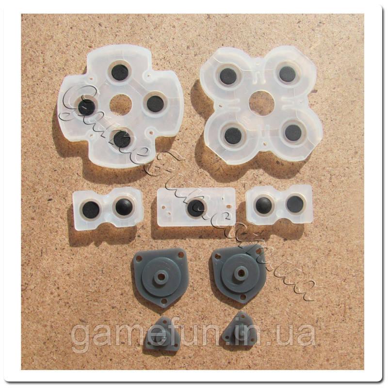 Контактні гумки для джойстика Dualshok 4 PS4 (JDM-001, JDM-011, JDM-020) (Оригінал)