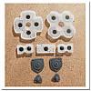 Контактные резинки для джойстика Dualshok 4 PS4 (JDM-001, JDM-011, JDM-020) (Китай)