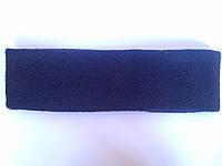 Пов'язка фліс (темно-синя)