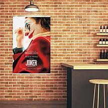 """Постер """"Джокер"""", постер фильма. Joker, Хоакин Феникс. Размер 60x40см (A2). Глянцевая бумага, фото 3"""