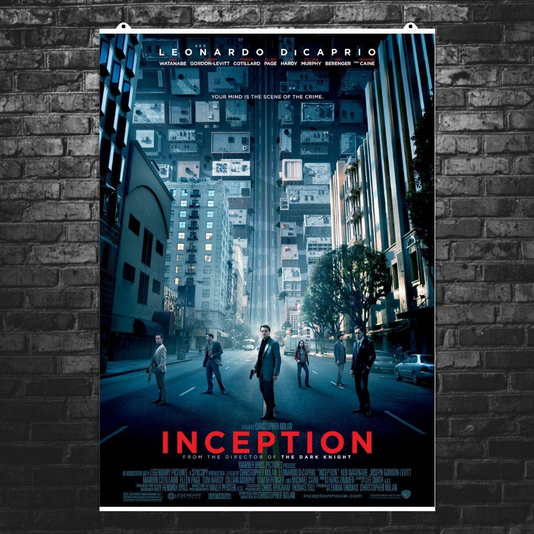 """Постер """"Начало. Inception"""", плакат №1. Размер 60x43см (A2). Глянцевая бумага"""