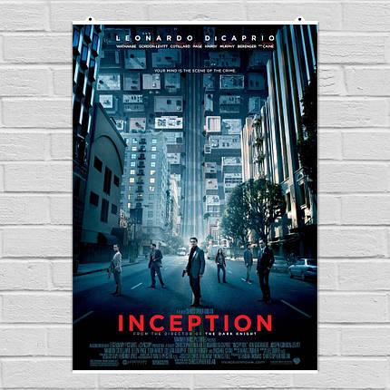 "Постер ""Начало. Inception"", плакат №1. Размер 60x43см (A2). Глянцевая бумага, фото 2"