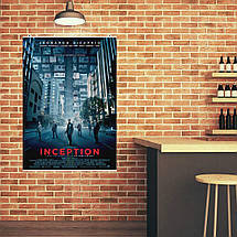 "Постер ""Начало. Inception"", плакат №1. Размер 60x43см (A2). Глянцевая бумага, фото 3"