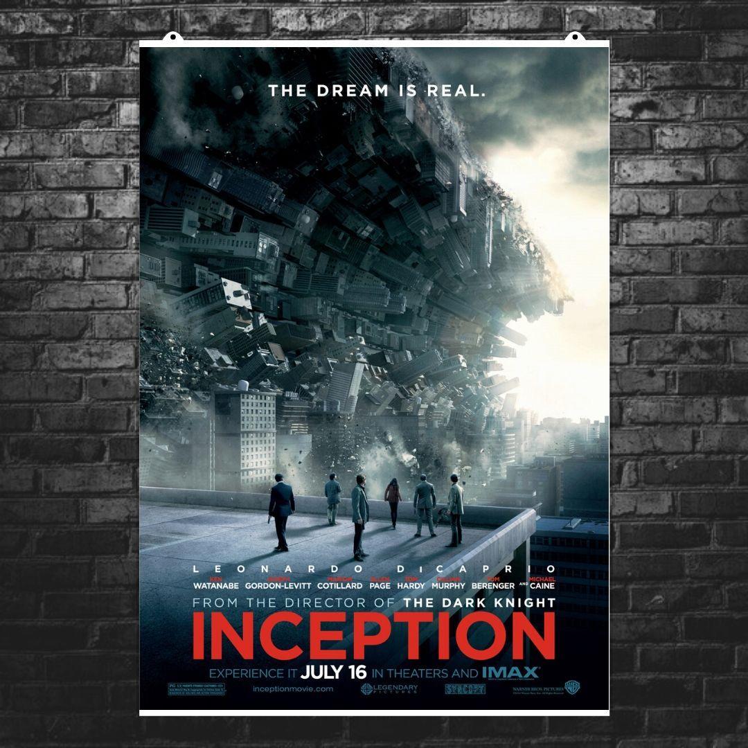 """Постер """"Начало. Inception"""", плакат №3. Размер 60x43см (A2). Глянцевая бумага"""