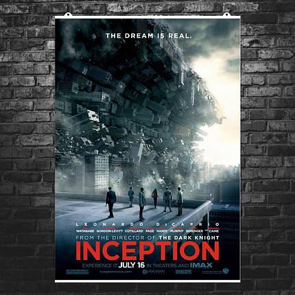 "Постер ""Начало. Inception"", плакат №3. Размер 60x43см (A2). Глянцевая бумага, фото 2"