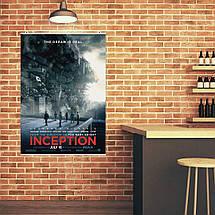 "Постер ""Начало. Inception"", плакат №3. Размер 60x43см (A2). Глянцевая бумага, фото 3"