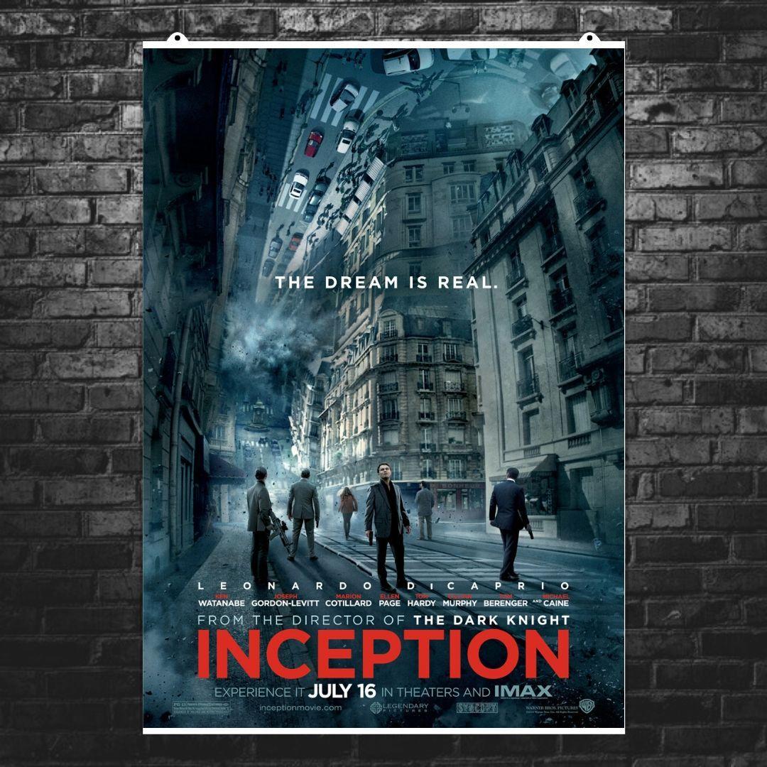 """Постер """"Начало. Inception"""", плакат №4. Размер 60x43см (A2). Глянцевая бумага"""
