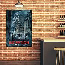 "Постер ""Начало. Inception"", плакат №4. Размер 60x43см (A2). Глянцевая бумага, фото 3"