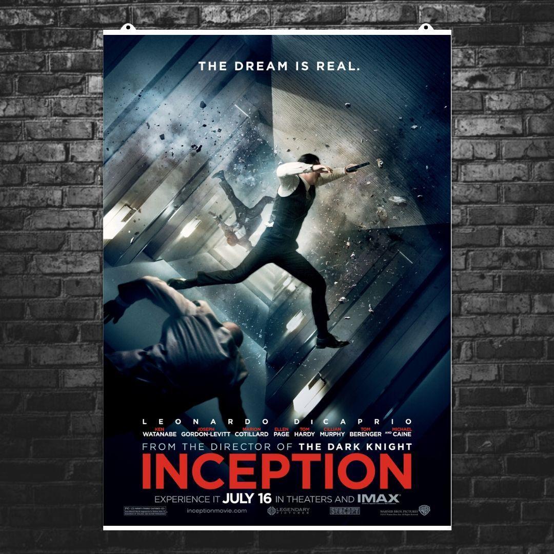 """Постер """"Начало. Inception"""", плакат №7. Размер 60x43см (A2). Глянцевая бумага"""