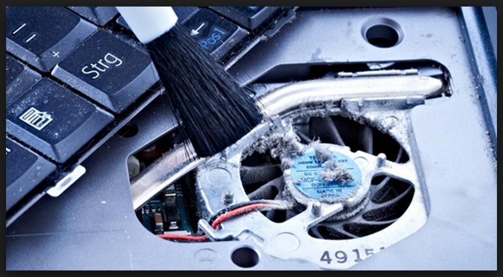 Техническое обслуживание (чистка и смазка) ноутбука Буча Ирпень Немешаево Клавдиево Гостомель