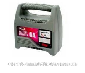 Зарядное устройство PULSO 12V/6A/20-80AHR/стрел.индик. BC-20860