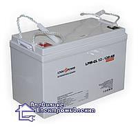 Гелева батарея LogicPower LPM - GL 120 AH, фото 1