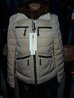 Куртка женская демисезонная 5530 беж, фото 1