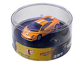 Машинка ShenQiWei микро р/у 1:43 лиценз. Lamborghini LP560 (желтый)