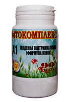 Фитокомплекс № 4.1 (мастопатия, эндометриоз)