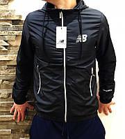 Ветровка мужская New Balance S20 black, чоловіча куртка