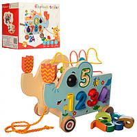 Деревянная игрушка Центр развивающий MD 1256