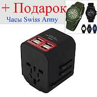 Зарядное устройство USB-адаптер Bakeey для мобильного телефона 4 USB-порта многофункциональное