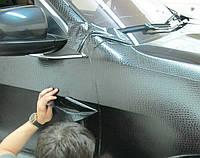 Пленка под кожу крокодила черная 1,52 м