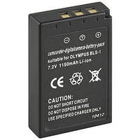 Аккумулятор для фотоаппаратов OLYMPUS - BLS-1 (PS-BLS1) - 1150 ma