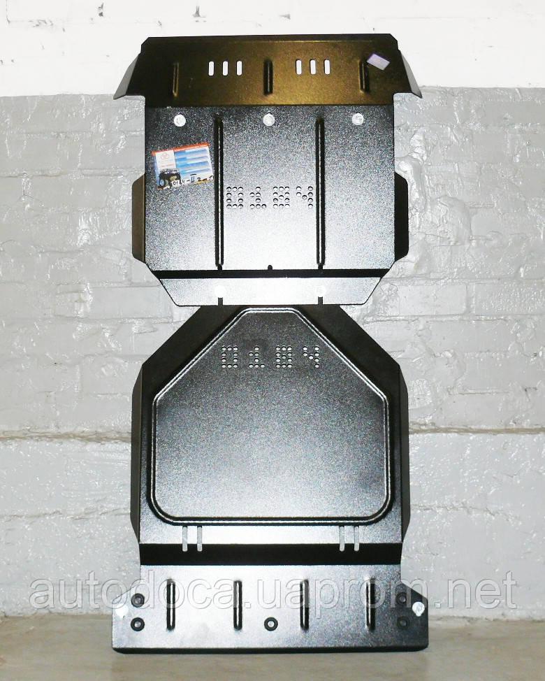 Защита картера двигателя, кпп и ркпп Dodge Nitro  2007-