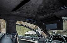 Самоклеющаяся алькантара черный 145х100 см