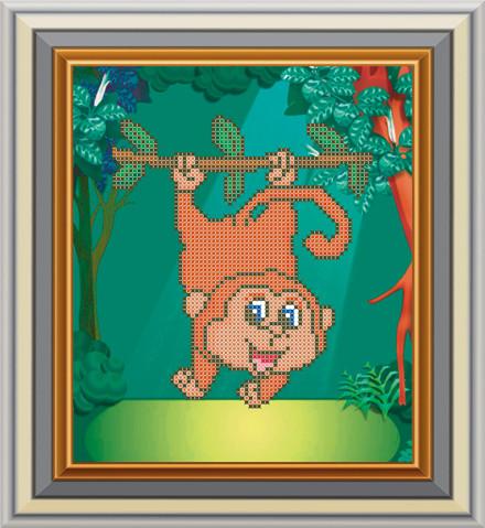 Схема для вишивки бісером Мавпочка. Арт. СД-129