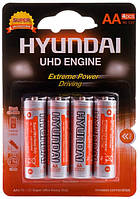 Батарейка Hyundai R6 4 PL 1x4 шт