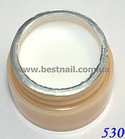 Гель-краска CANNI 5мл №530 белая