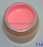 Гель-краска CANNI 5мл №534 пастельно-розовая