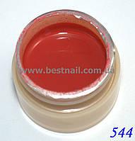 Гель-краска CANNI 5мл №544  коричнево-бордовая, фото 1
