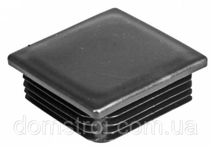 Заглушка пластиковая 40х40 мм, фото 2