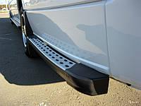 Боковые пороги за задним колесом Volkswagen Crafter на любую базу